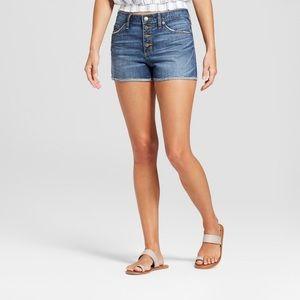 Universal Thread High-Rise Shortie Shorts NWT